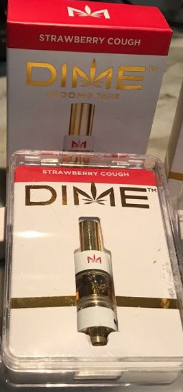 Strawberry Cough Dime Cart